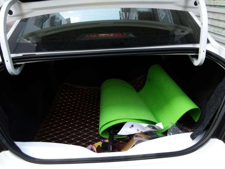 佳卡诺 大全包围后备箱垫子车用尾箱垫汽车装饰用品大众福特别克本田丰田起亚日产现代雪佛兰专用评价 思域 CRV XRV 缤智 雅阁 凌派 杰德 标准款 黑红色 晒单图