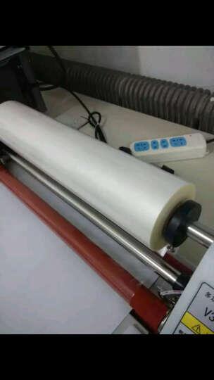 1英寸芯28微米亮光膜 320MM*200M亮膜 bopp预涂膜 覆膜机专用膜 名片膜 热膜 28微米300MM*200M光膜 晒单图
