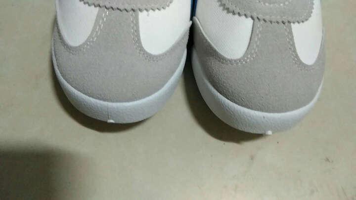 男鞋夏季潮鞋日系板鞋男韩版潮男阿甘鞋男士老虎鞋学生白色休闲鞋 D16白蓝 40标准运动鞋尺码 晒单图