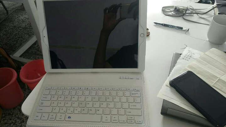 黑啾  新款ipad pro12.9保护套无线蓝牙键盘平板保护壳 一一pro白色12.9英寸一一 晒单图