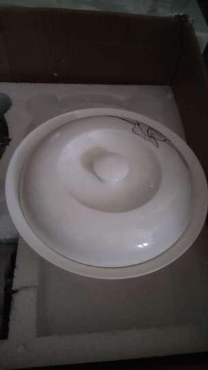 景泉 景德镇陶瓷碗碟骨瓷餐具套装 永恒玫瑰 晒单图