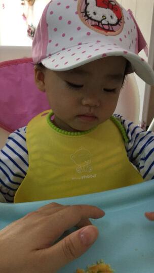 凯蒂猫(HELLO KITTY)儿童棒球帽(遮阳帽) KT4058 白粉 50cm 晒单图