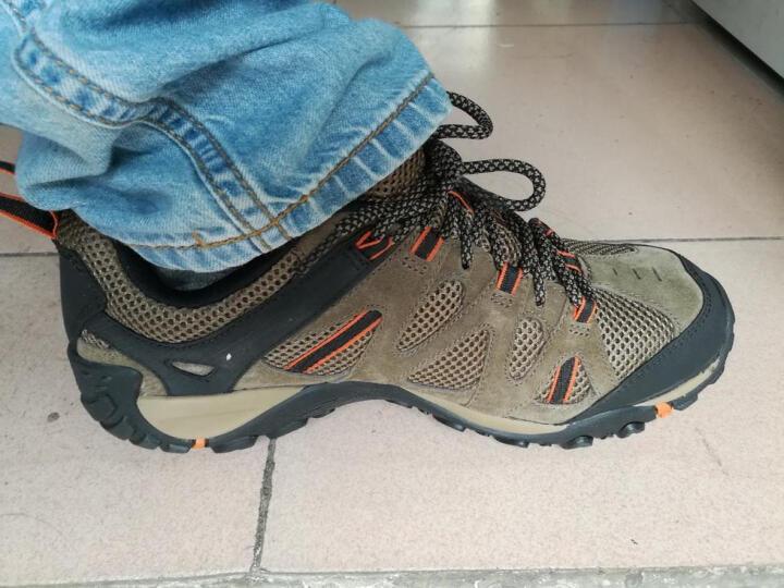 迈乐(Merrell) MERRELL迈乐户外轻装徒步鞋透气耐磨缓震男鞋J343718C 卡其色 44 晒单图