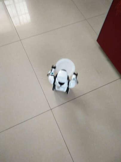 【新版升级版】艾力克智能机器人可对战自动平衡智能玩具 会唱歌跳舞对话负重 白色-新款升级版 晒单图