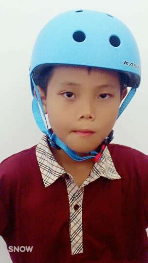 KASTO 儿童头盔滑步自行车骑行轮滑板头盔户外安全攀岩头盔滑步学步车头盔 蓝色(梅花涂装) 晒单图