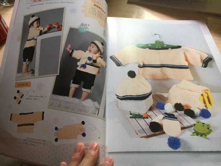 0-3岁宝宝棒针编织 织毛衣教程 零基础制作手工钩针编织书针织书 学做儿童宝宝毛衣 晒单图