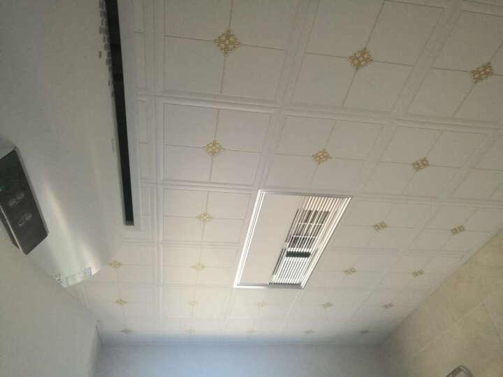 塞纳春天 集成吊顶 UV板材全包厨卫简约套餐 送辅料 15㎡一厨两卫吊顶+温显浴霸两台+14W长灯 晒单图