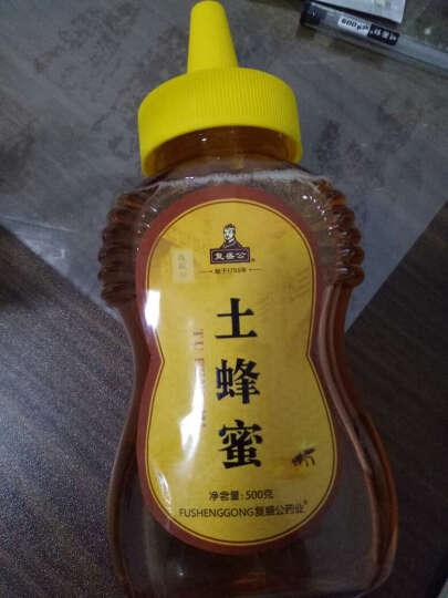 复盛公 【限时2件9折】野生中华蜂蜂蜜高度成熟蜜土蜂蜜500克 润肠润肤面膜 晒单图