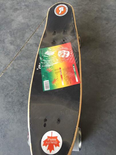 迈卡龙 滑板四轮小鱼板枫木公路成人儿童滑板车 摩托达人-大轮 晒单图