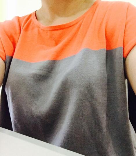 Ports/宝姿 女装夏季新款时尚百搭休闲短袖针织衫女 U-STEEL/ORANGE 晒单图