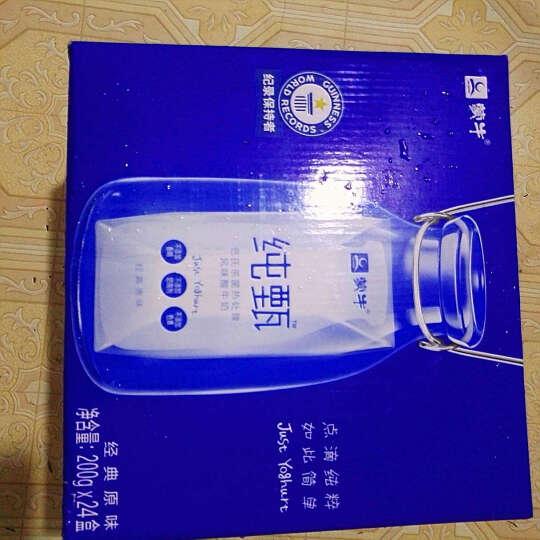 【24盒装】蒙牛 纯甄 常温酸牛奶 200g*24 礼盒装 晒单图