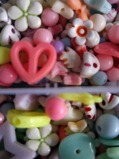 可爱布丁玩具女孩串珠DIY手工3-6-8岁儿童生日礼物亲子益智过家家玩具 弹力线10卷装(一卷10米) 晒单图