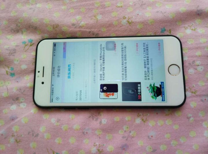 圣迪威 (Sendio )苹果iPhone6/6s手机保护壳套 可爱糖果色tpu全包柔软防摔壳 粉色 晒单图