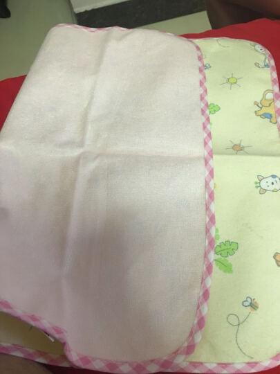象宝宝(elepbaby)婴幼儿尿垫 竹纤维三层加厚防水隔尿垫小号50X37CM(粉色3条装) 晒单图