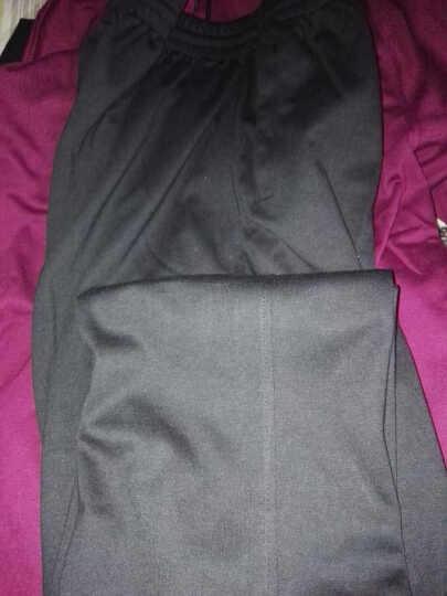 维斯瑞亚 运动套装 春秋男女款情侣休闲运动服卫衣套装男三件套 35款深灰 男款3XL 晒单图