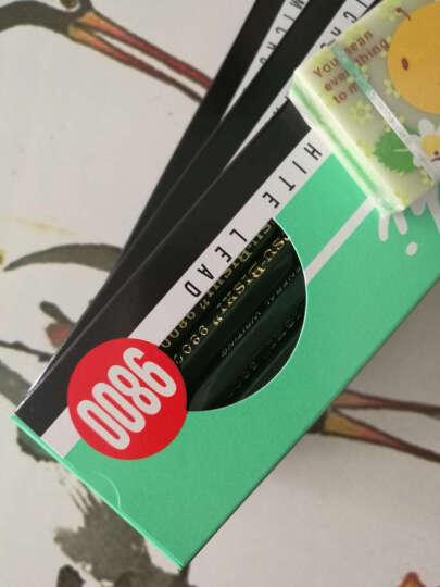 日本进口三菱UNI9800绘图铅笔测试铅笔绘画铅笔素描铅笔多灰度学生用美术铅笔 22支全套-B至10B+H至8H+HB+F 盒装 晒单图