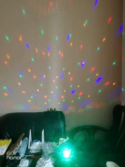 够能耐 7声控ktv灯光彩灯球 蓝牙9色魔球 家装节酒吧迪厅舞台灯镭射激光LED七彩旋转 9色遥控+七大声控 晒单图