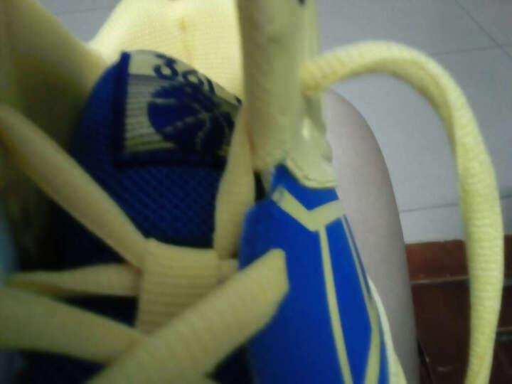 361° 361度童鞋 休闲中大童男鞋儿童运动鞋防滑减震男童鞋篮球鞋 K79570061 深蓝/浅绿(新1) 36 晒单图