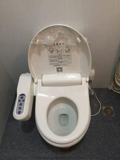 舜洁(soojee) 智能马桶盖板坐便盖通用自动加热洁身器坐便器 晒单图