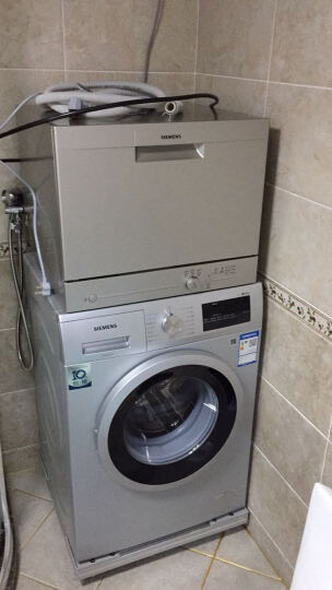西门子(SIEMENS) 原装进口 全自动家用洗碗机独立台式 SK23E800TI 晒单图
