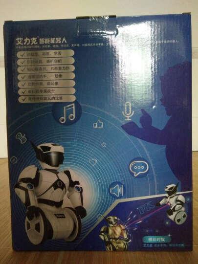 【京东配送】艾力克智能机器人自动平衡智能玩具 儿童遥控电动对战跳舞机器人 艾力克 晒单图