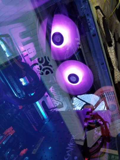 九州风神(DEEPCOOL) 船长120 水冷CPU散热器(多平台/发光呼吸灯/12CM风扇/智能温控/预涂硅脂/水冷) 晒单图