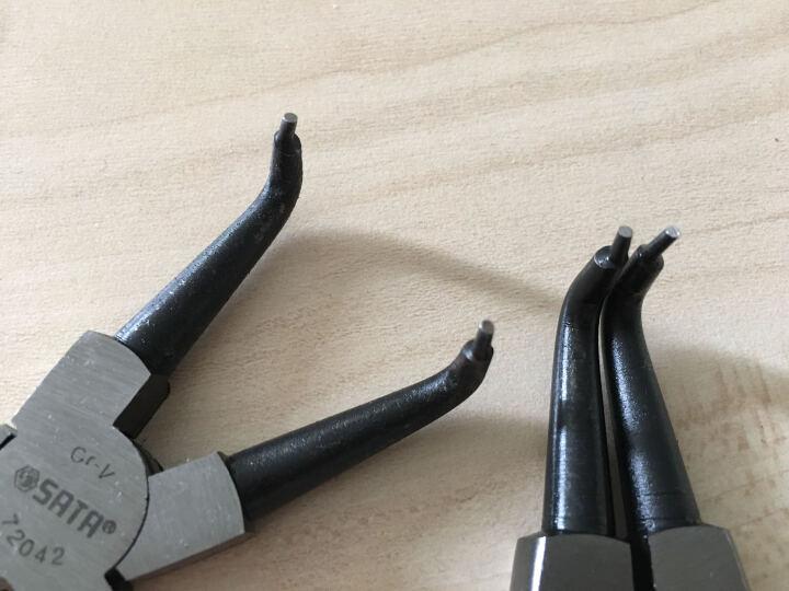 世达SATA 外卡外e型卡簧钳5寸 72021 72022 晒单图