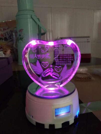 有间礼坊 创意圣诞节生日礼物 女生音乐盒男生送女友男女朋友闺蜜送老婆八音盒圣诞平安夜礼品 love玫瑰+MP4灯座 晒单图
