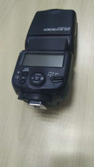 佳能(Canon) 原装外接/外置闪光灯/原厂电池盒手柄/适用于EOS数码单反相机 430EX III-RT闪光灯 晒单图