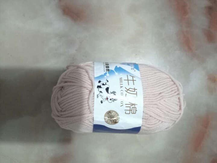 ANERSEN宝宝毛线5股牛奶棉中粗毛线纯棉线手编钩针线围巾线 卡其色 41 晒单图
