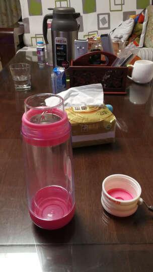 居元素 水晶芯 玻璃双层 多普 随身杯 粉红色 晒单图