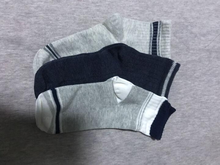 网易严选 3双装 小绅士经典童袜(男童)男孩袜子纯棉长袜运动袜 透气吸湿-1 底长18cm(建议9~12岁) 晒单图