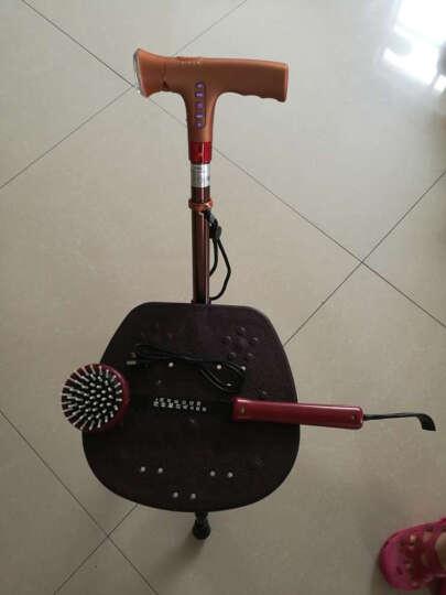多功能老年人智能伸缩拐杖 可充电铝合金伸缩带灯收音机手杖 老人助行器手杖 多功能拐杖凳(可调节高度) 晒单图