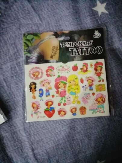 儿童纹身贴 女孩贴纸卡通防水安全贴画宝宝可爱水印纹身贴纸 小马朵拉女孩4张 晒单图