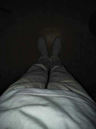 ShiBeiLun休闲男装牛仔 纯白色 紧身新款欧版修身哈伦小脚长裤子 男士款运动裤 白色弹力水洗牛仔裤 31码 ( 2尺4 ) 晒单图