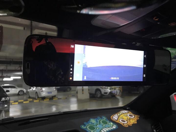 惠普行车记录仪双镜头高清夜视s760后视镜智能声控导航一体机测速电子狗4G网络 3G版s760+送16G卡 晒单图