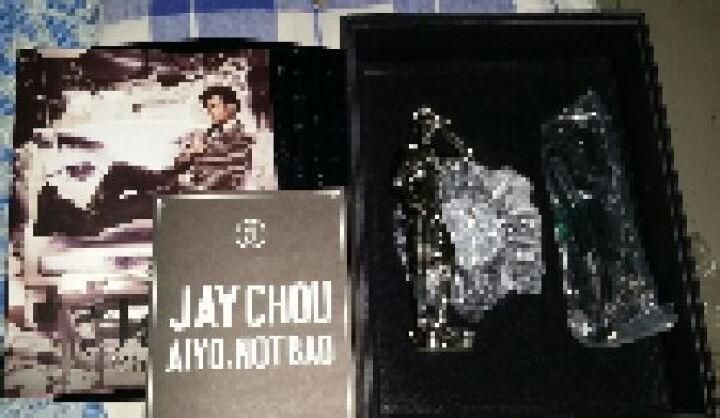 周杰伦:哎呦,不错哦(限量USB版-赠送内地独家酷炫亮银Jay小公仔+Chou斑马纹背袋) 晒单图