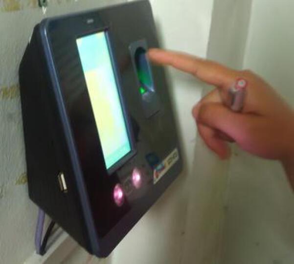 真地(Realand) F301人脸指纹网络考勤机/打卡机/面部指纹刷卡混合识别\触摸屏\速度快\大容量 晒单图
