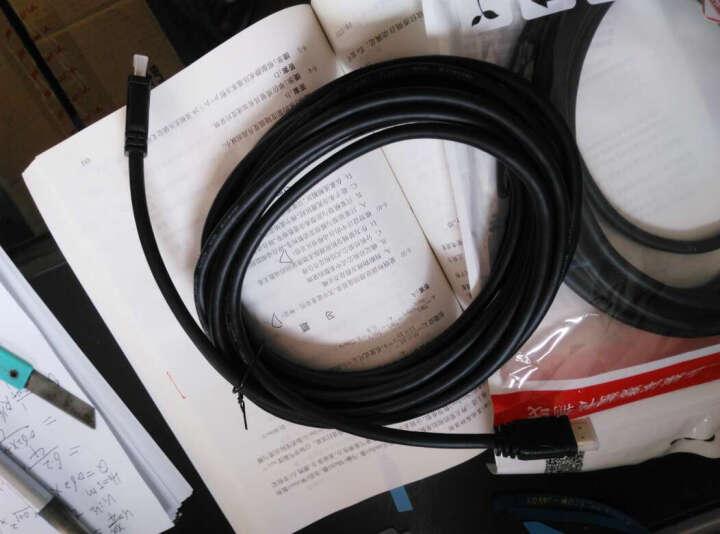 优越者(UNITEK) HDMI线2.0版 4K/3D高清线 笔记本电脑电视投影仪显示器连接线 2米 Y-C138U 晒单图
