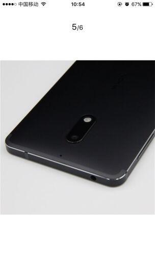 【二手99新】诺基亚6 (Nokia6) 诺基亚手机 黑色 4GB+32GB全网通 在保 晒单图