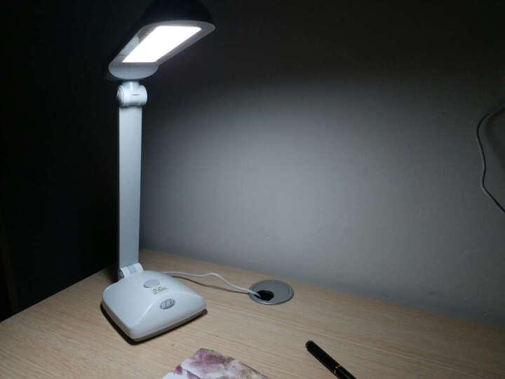 好视力LED面光源减蓝光护眼台灯 触摸9档调光调色 学习阅读台灯TG2309-BK 晒单图