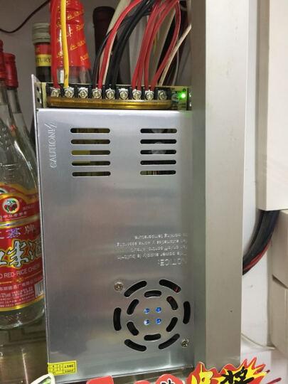 视明通 DC12V监控电源摄像头电源稳压开关电源 集中供电 监控电源适配器LED灯适配 12V30A 晒单图
