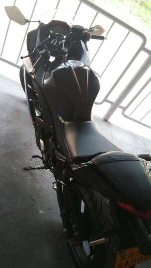 baodiao 新款小忍者款摩托车跑车赛街车重型机车150CC350CC400CC电喷大跑车可上牌 珠光黑无花 隆鑫或力帆250双缸5档风冷链条机 晒单图