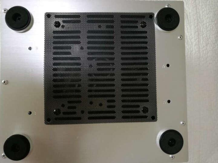 乔思伯(JONSBO)C2 黑色 MINI机箱(支持24.5*21.5CM尺寸内主板/全铝机箱/ATX电源/80MM高内散热器) 晒单图