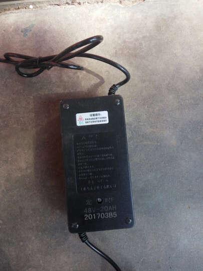 一唯 电瓶车智能充电器 大功率三轮电动车专用充电器 72V20AH水星款 务必核对型号买错一律不退不换 晒单图