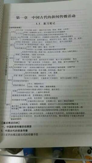 国内外经典教材辅导系列·新闻类:方汉奇《中国新闻传播史》笔记和课后习题(含考研真题)详解(第3版) 晒单图