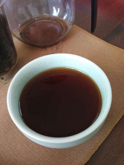 中粮 中茶牌 茶叶 普洱茶熟茶 中茶如意饼357g中华老字号 晒单图