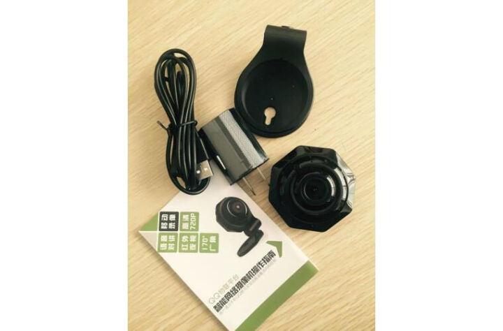 微型摄像机 高清监控无线wifi远程网络夜视广角摄像头防盗器报警器智能家居设备 超高清+32G内存卡 晒单图