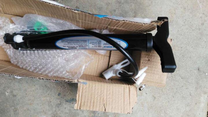 INBIKE 打气筒自行车高压家用汽车充玩具篮球山地电动瓶摩托单车 黑色33CM-无气压泵-短柄 晒单图