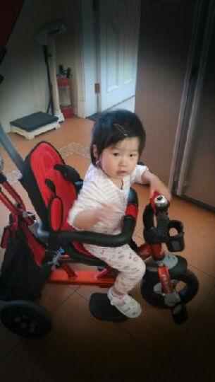 五祥铝合金儿童三轮车脚踏车宝宝三轮车玩具车自行车婴儿推车 双向中国红铝合金 晒单图